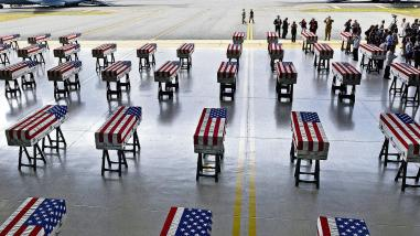 Image result for US SOLDIERS' REMAINS ARRIVED IN HAWAII