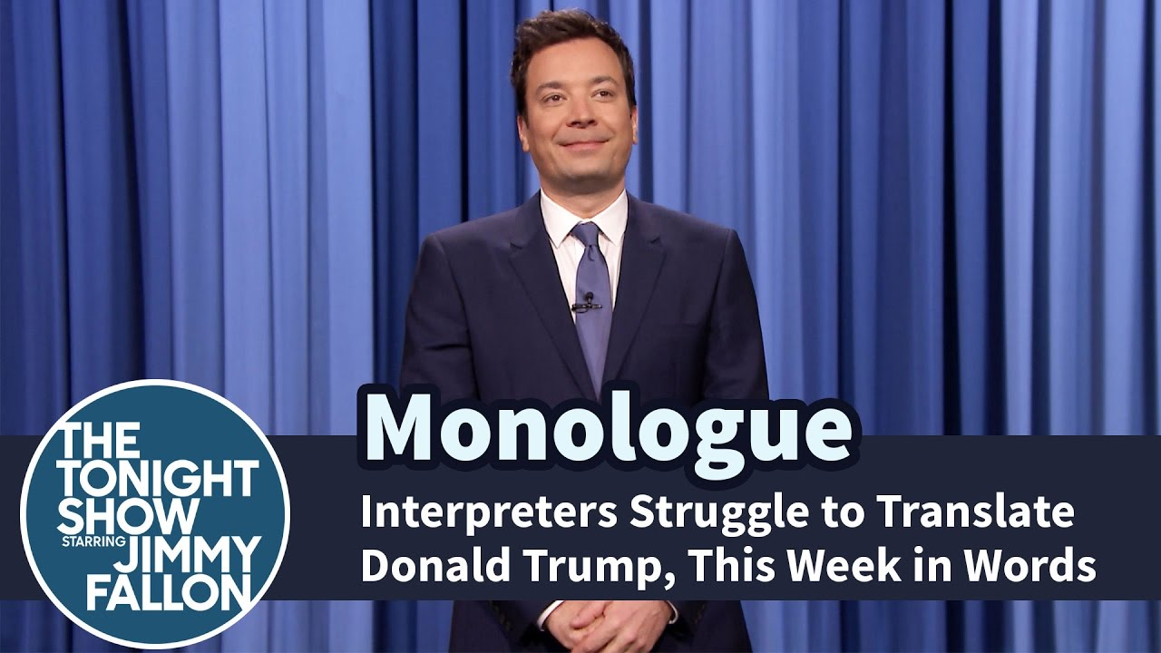 Interpreters Struggle to Translate Donald Trump, This Week in Words - M...