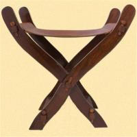Sale of Medieval Scissors Chair with leather seat The Time ...