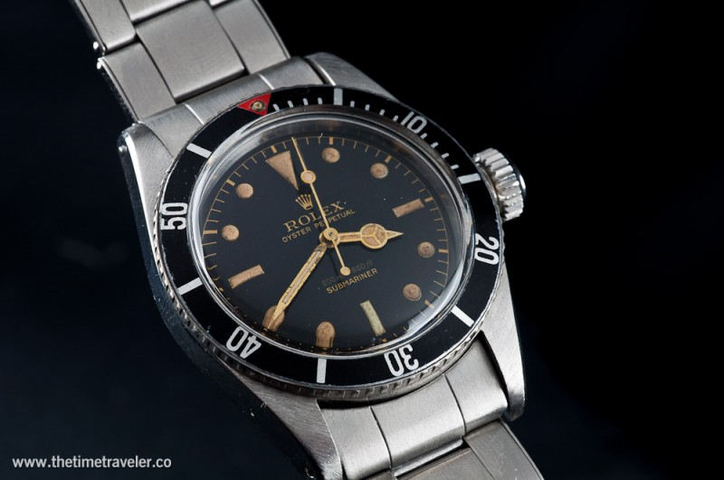 Big Crown James Bond Submariner From Original Owners
