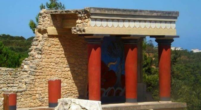 The House of Asterion. Crete