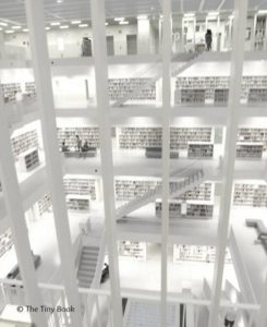 Stuttgart Public Library. Germany.