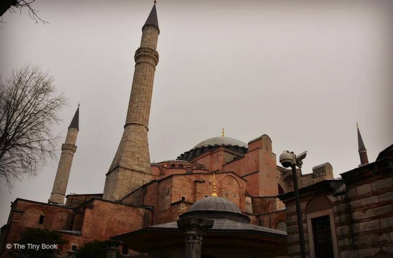 Hagia Sophia, a view of some of the minarets.The Holy Soul of Istanbul, minarets of Hagia Sophia