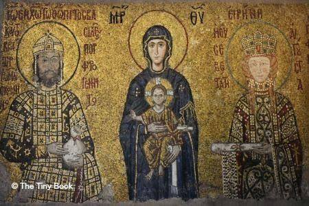 The Holy Soul of Istanbul: Mosaic in Hagia Sophia, Comnenus