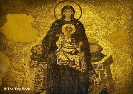 The Holy Soul of Istanbul, mosaic on the Apse in Hagia Sophia