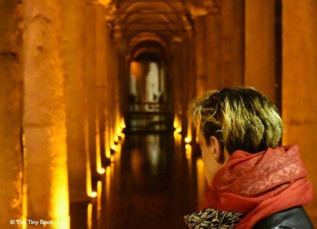 The Sunken Palace, the Sunken Cistern. Istanbul.