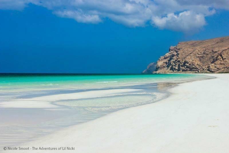 Shu'uab Beach, Arabian Sea.