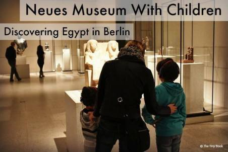 Neues museum with children