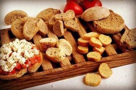 Paximadia Cretan bread- Greek Tastes: Different types of bread from Greece.