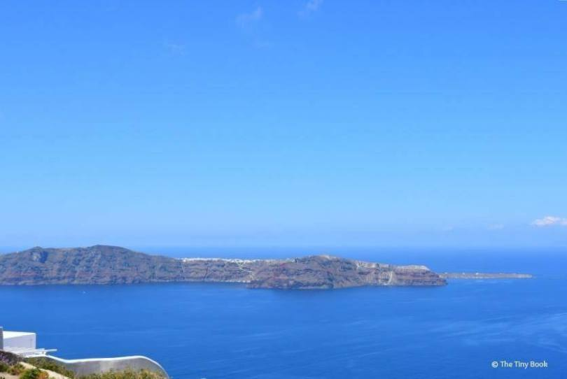 The Aegean from Imerovigli. Santorini dreamy photo destination
