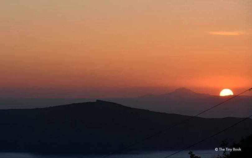 Caldera and Sunset. Imerovigli, Santorini. Santorini dreamy photo destination