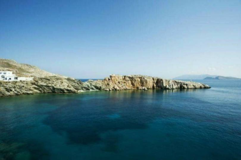 An alluring bay on the tranquil island of Folegandros. Folegandros. Summer Festivals in Greece: Athens and Folegandros