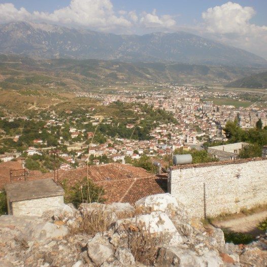 View from above, Berat