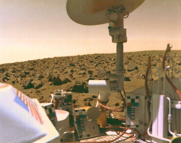 Η κοιλάδα Utopian στον Άρη από το Viking 2, 3 Σεπτεμβρίου 1976. Φωτο: Flickr/NASA