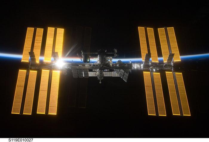 Διεθνής Διαστημικό Σταθμός, 25 Μαρτίου 2009. Φωτο: Flickr/NASA