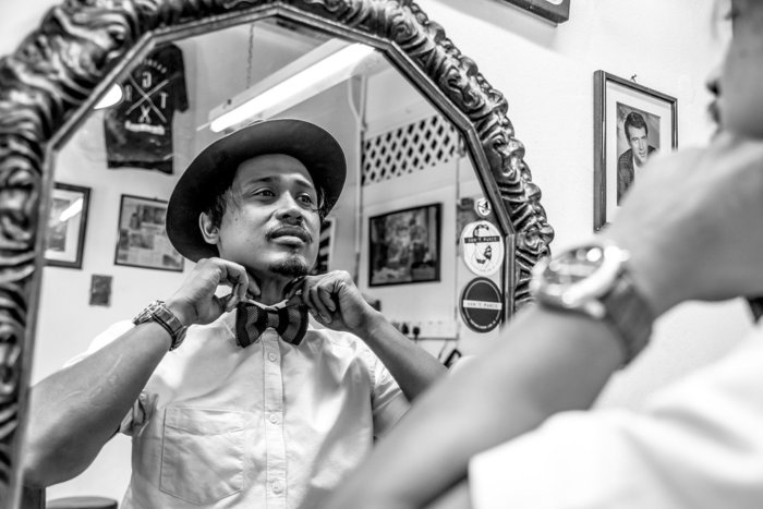 Son & Dad Barbers, George Town, Penang, MalaysiaPhoto by Alison Cahill/www.tpoty.com