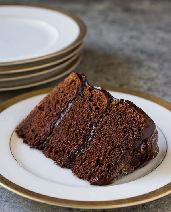 Gluten Free Chocolate Cake With Cinnamon Chilli