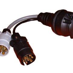 13 Pin Caravan Plug Wiring Diagram Uk Fishbone In Software Testing Towing Adaptor 2 X 7 Car To The Tool Box