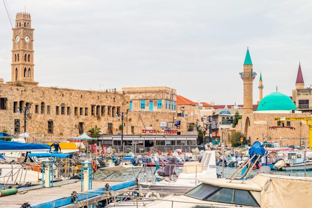 The Marina and the Old City of Akko, Israel - places to visit israel, places to see in israel,