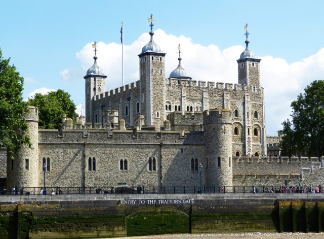 The Tower of London - historical things to do in london, and one of the best places to visit in london