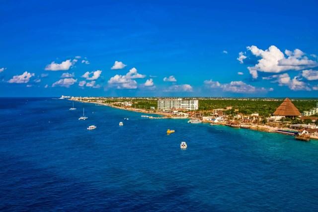 The coast of Cozumel. riviera maya mexico things to do. things to do on the riviera maya mexico.