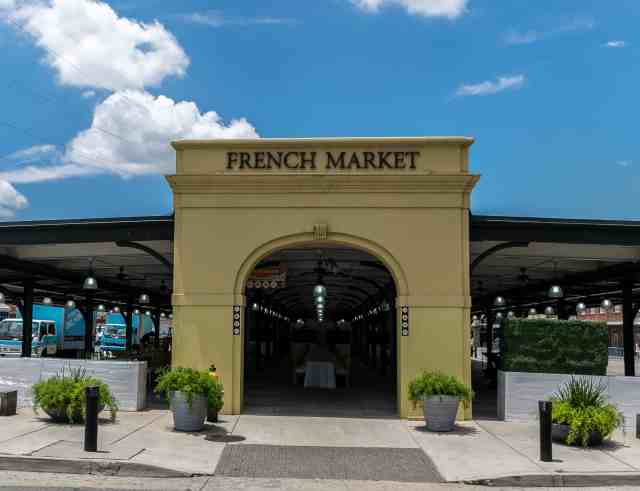 The entrance gate to the French Market. This is one of the top 10 things to do in new orleans
