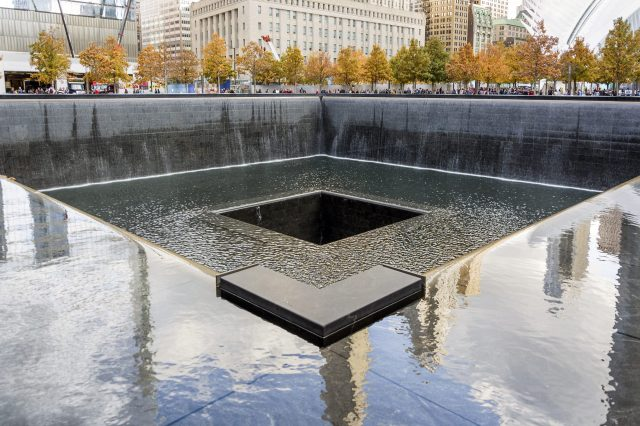 The Pool at Ground Zero - The 9/11 Memorial. One of the top 10 things to do in new york