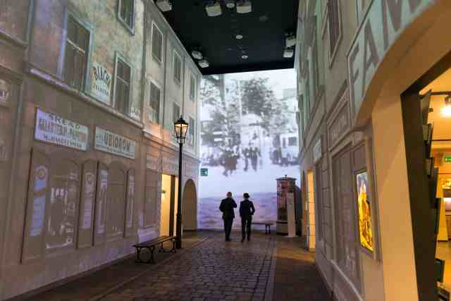 Inside the Museum of the History of Polish Jews