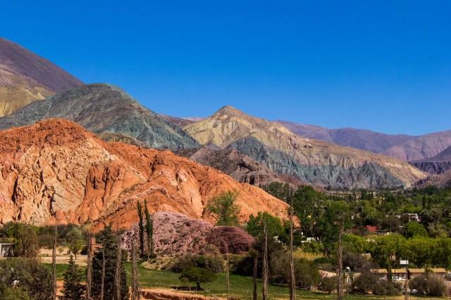 Cerro de los siete colores near Purmamarca