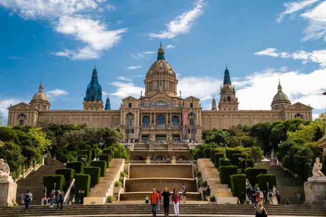 The National Museum of Catalan Art - MNAC, on Montjuic - places to visit at barcelona, things do barcelona