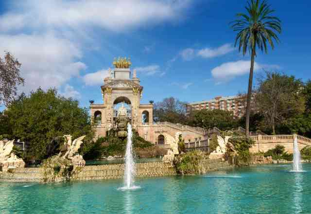 The fountain of Parc de la Ciutadella  -things to do barcelona, barcelona things to do