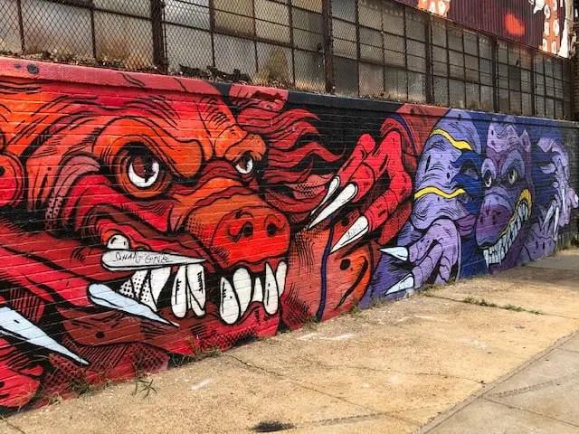Street Art in Bushwick - one of my favorite brooklyn activities. brooklyn things to do
