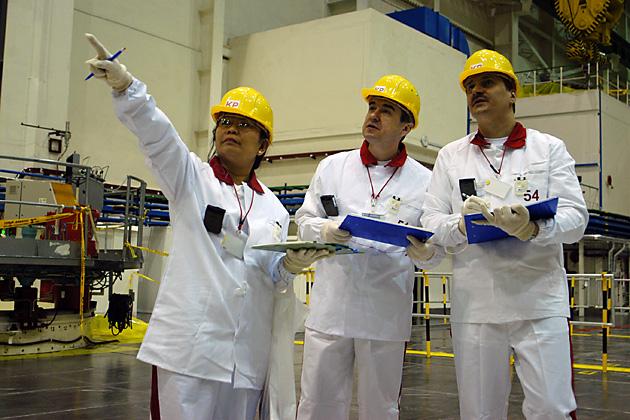IAEA inspectors participate in a training exercise in Slovakia. Photo: Dean Calma / IAEA / flickr