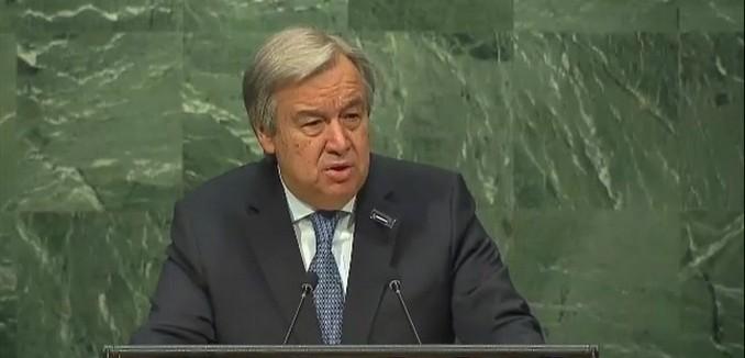 UN Secretary General Antonio Gutteres