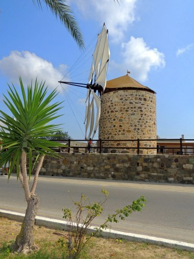 The last working windmill on Kos