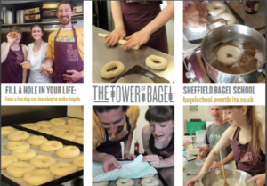 Book your place on Bagel School now!
