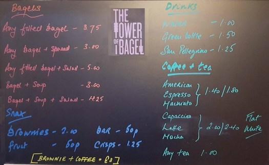 menu board 23rd May