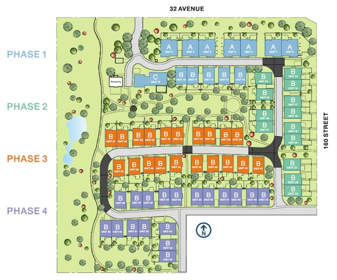 Morgan Creek Apartments: BLU LIVING (Townhomes At Morgan Creek): 15988 32 Avenue In