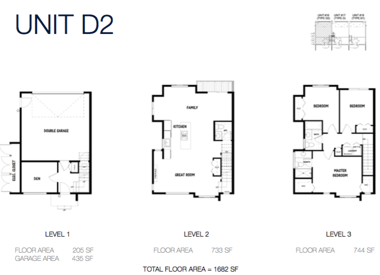 south on 16 townhomes