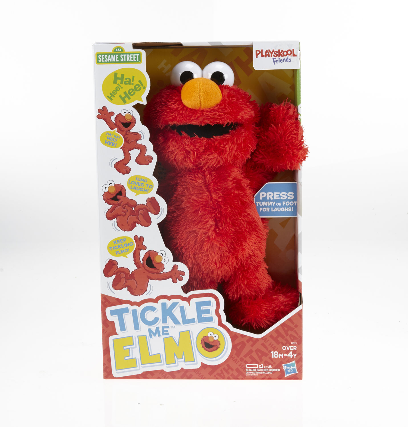 tickle me elmo will