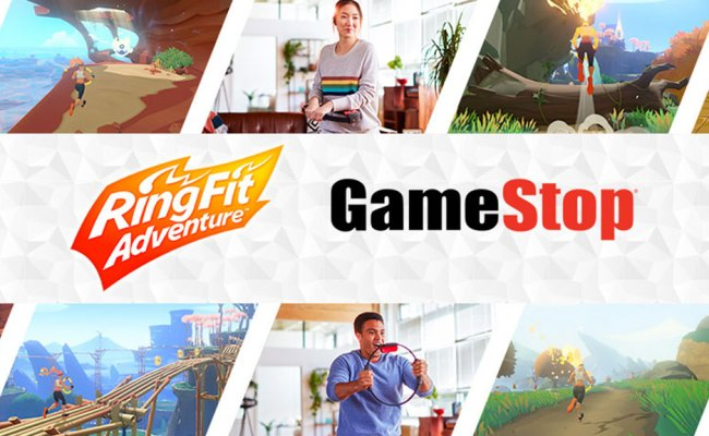 Play Nintendo S Ring Fit Adventure At Gamestop This