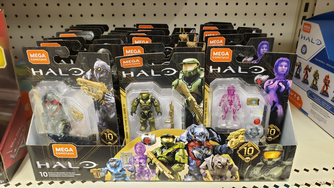 Mega Construx Halo Heroes Series 10 Ratio in a Full Box
