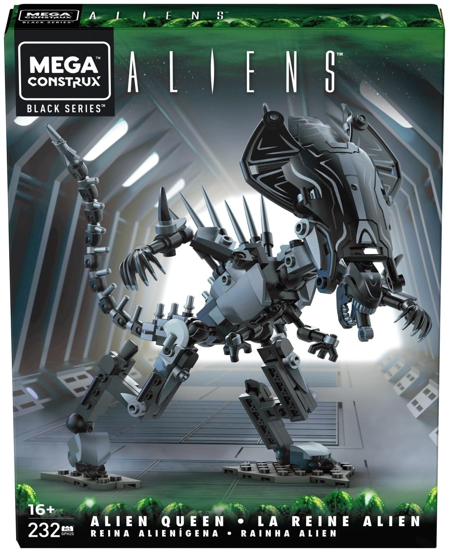 Mega Construx Black Series Aliens – Alien Queen Now Available