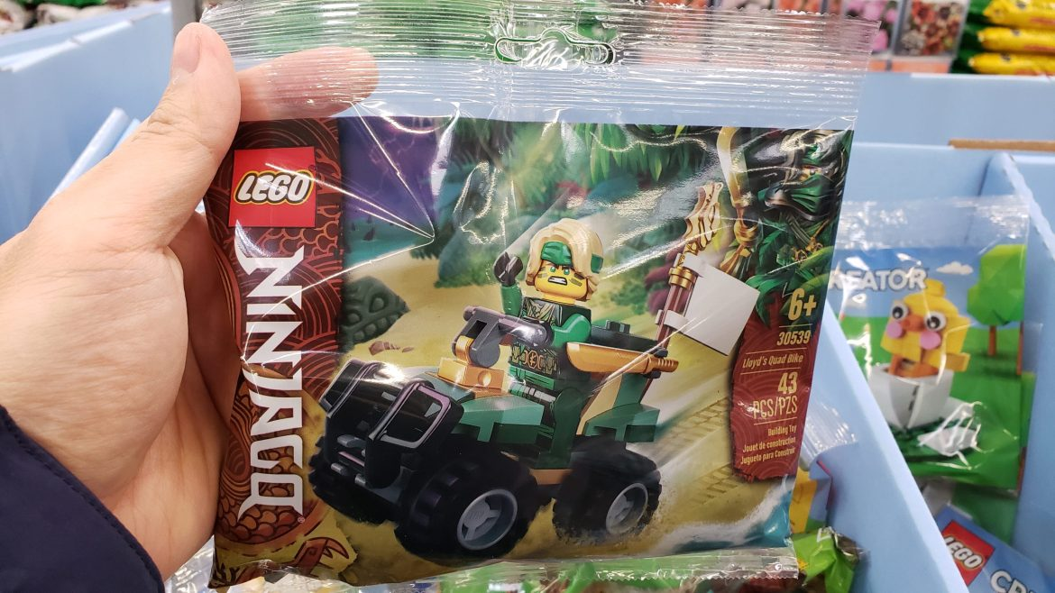 New Lego Polybags and Other Toys Found at Walmart