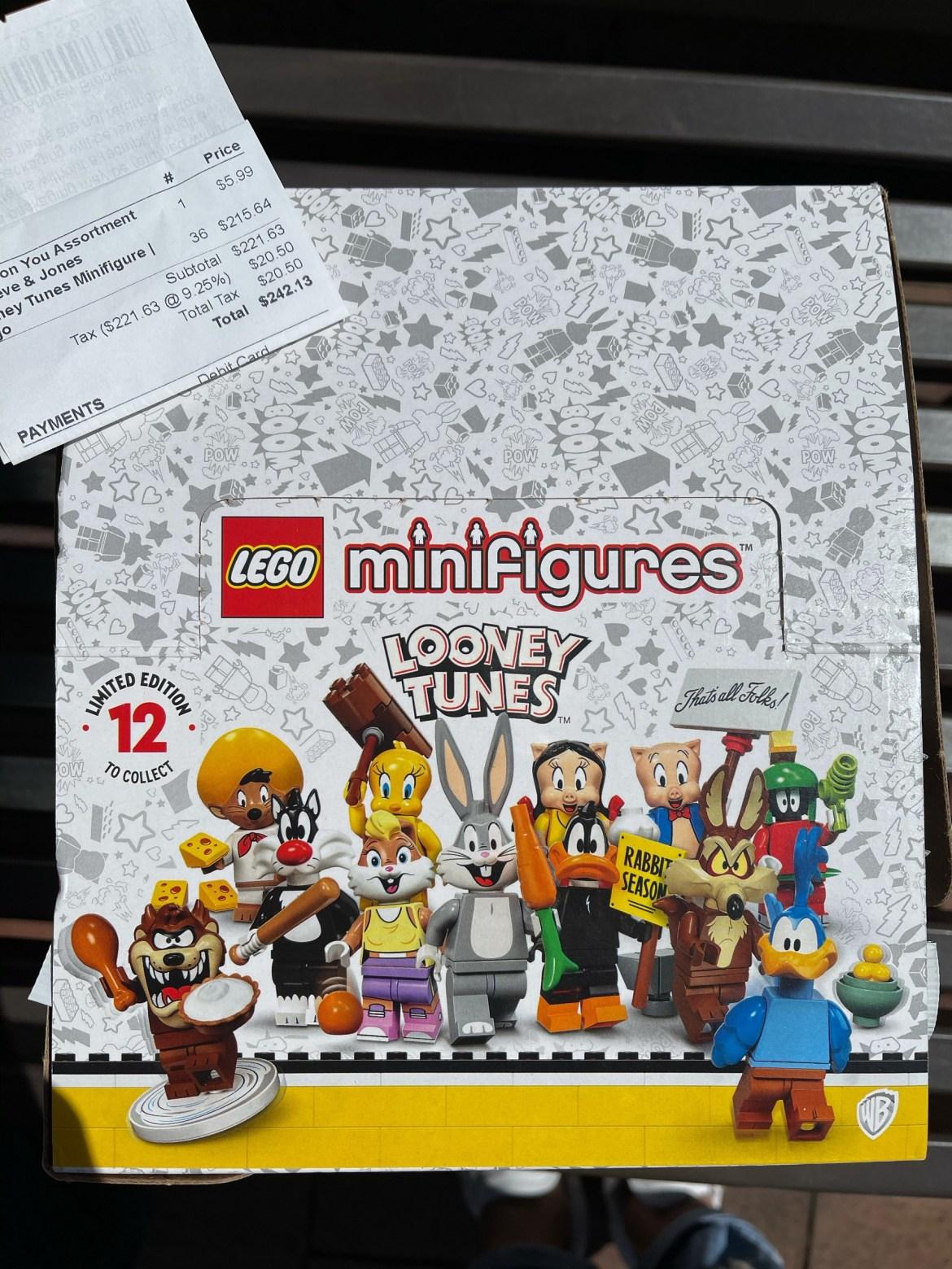 Lego Looney Tunes Minifigures Revealed!