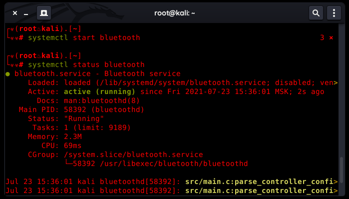 How to Fix Kali Linux Bluetooth issues