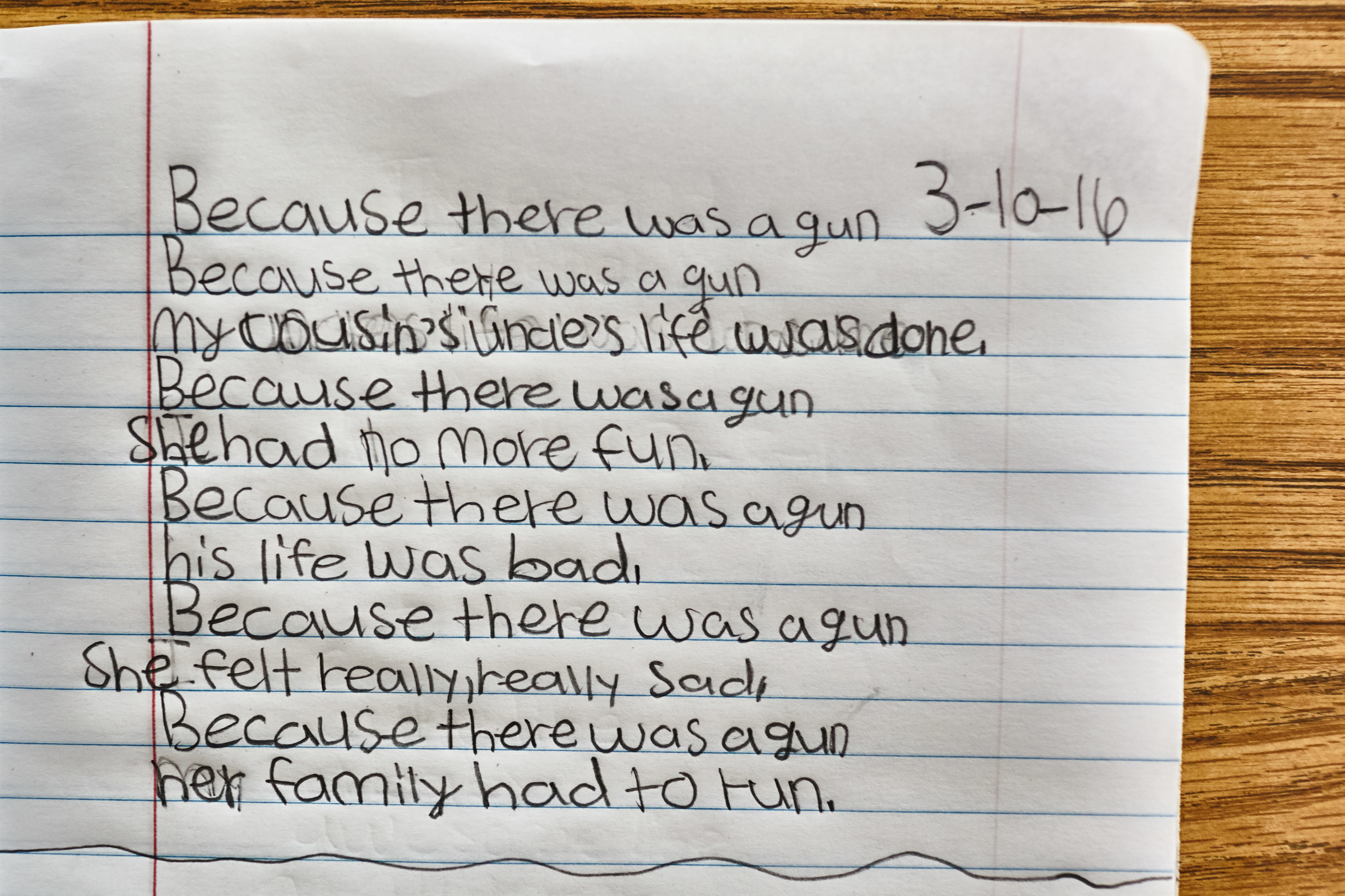 These Haunting Poems By Fourth Graders In Philadelphia