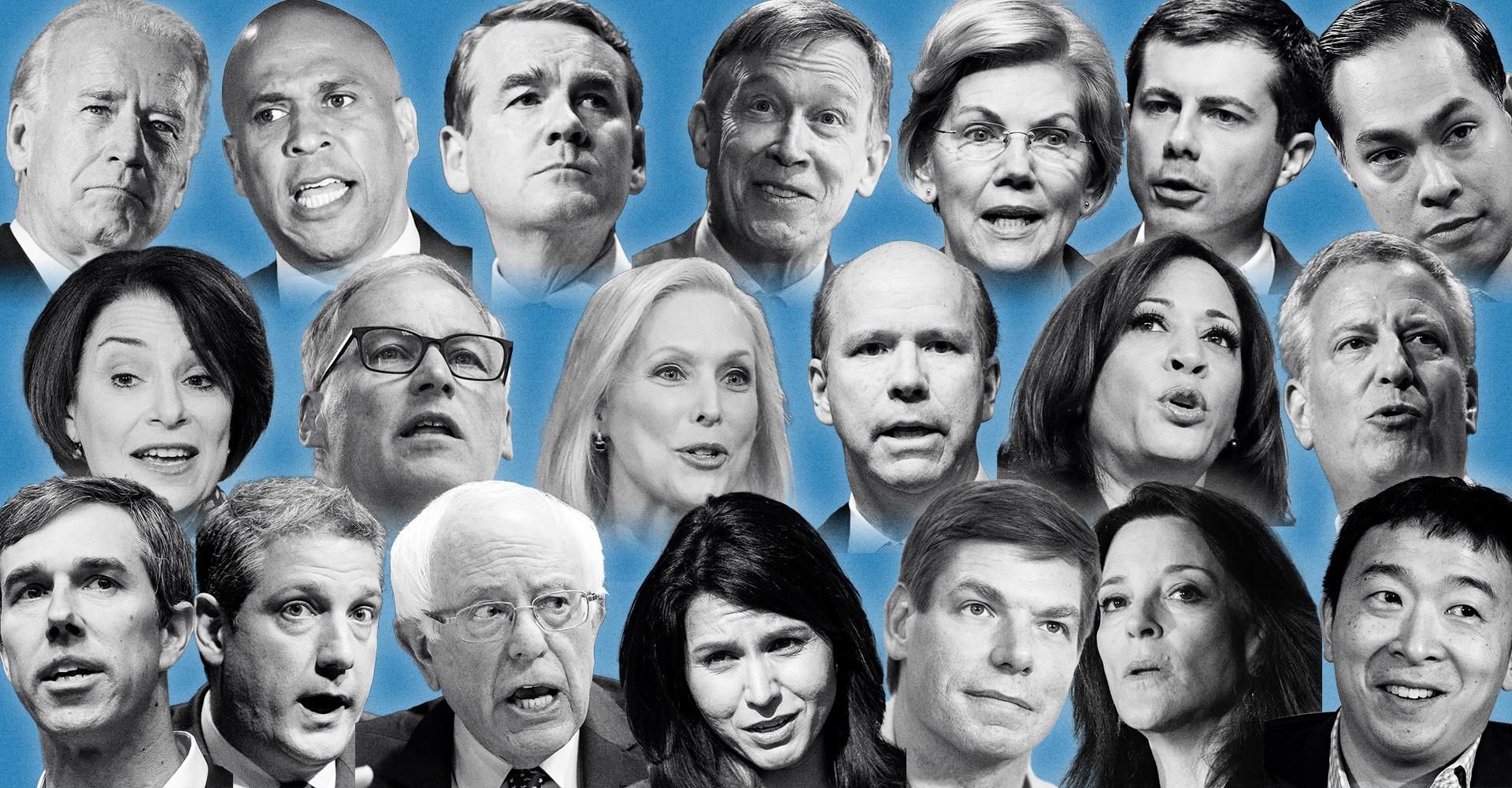 where the 2020 democratic
