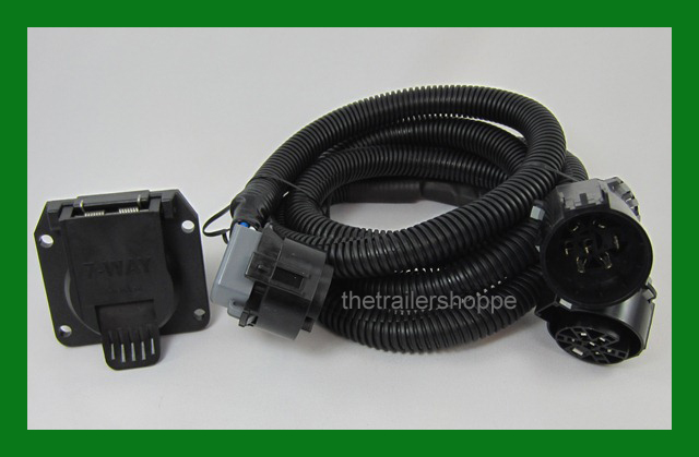 Bargman Fifth Wheel Gooseneck 7way Trailer Wiring Harness Ebay