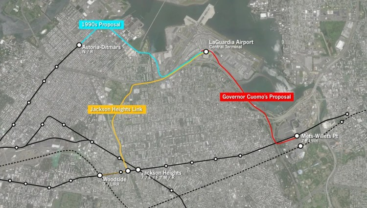 For LaGuardia, an AirTrain that will save almost no one any time